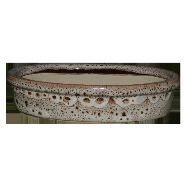 Ceramic Bonsai Tray Glaze Small