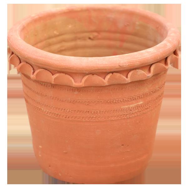 Earthen Pot 12 Inches  Fancy