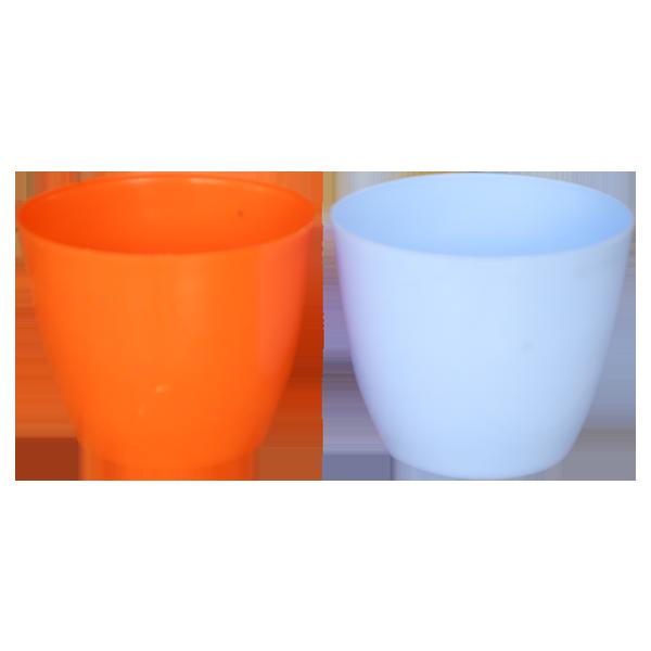 Plastic Blossom Pot