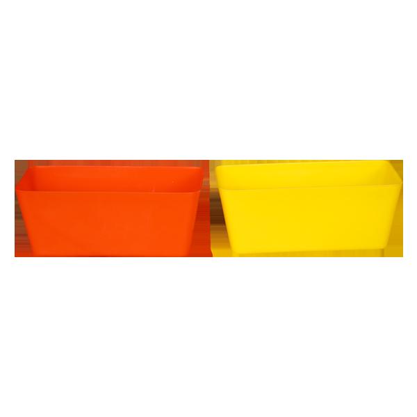 Plastic Four Sqaure Pot